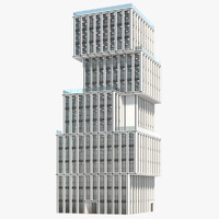 office building urban model