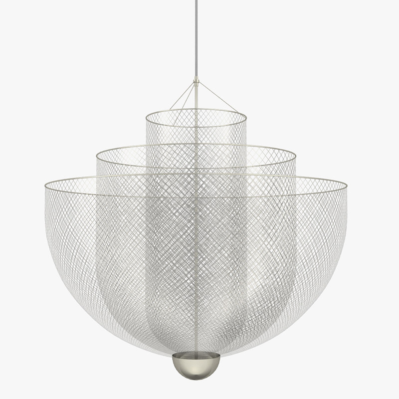 moooi meshmatics chandelier 3D model