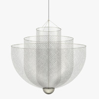 moooi meshmatics chandelier 3D model
