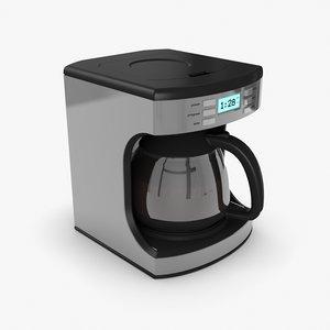 3D coffeemaker coffee