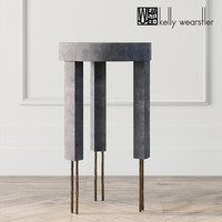 melange table kelly wearstler 3D model