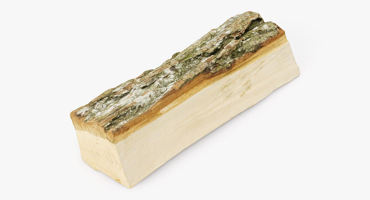 3D realistic wood