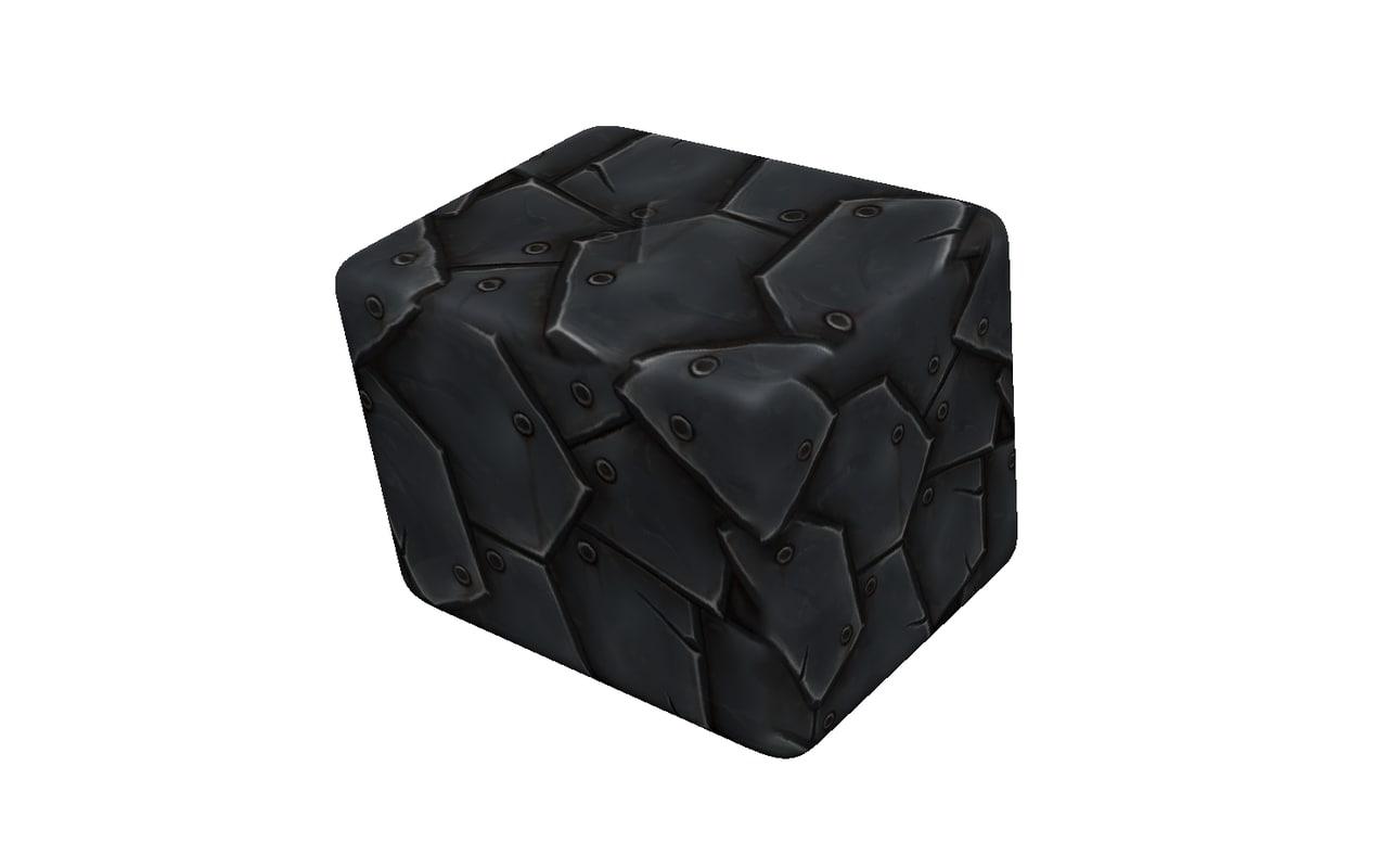 3D iron box model
