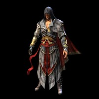 ezio auditore da 3D model
