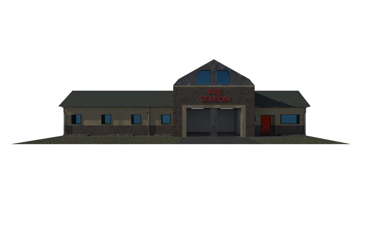 department building model