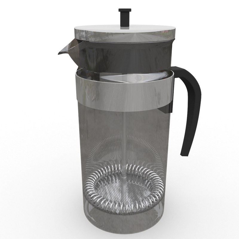 coffee maker 3D