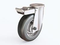 3D castor 01 10 model