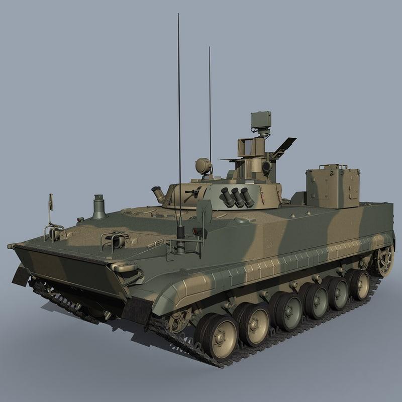 9p157-4 command vehicle model