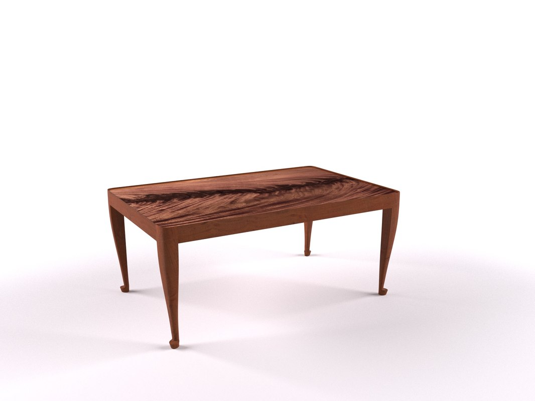 3D model coffee table 2073