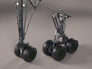 landing gears 3D