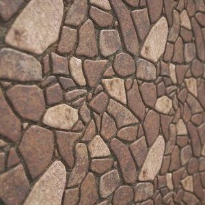 natural stone 2 3D