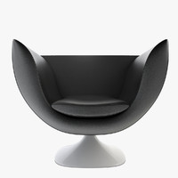 armchair spline 3D