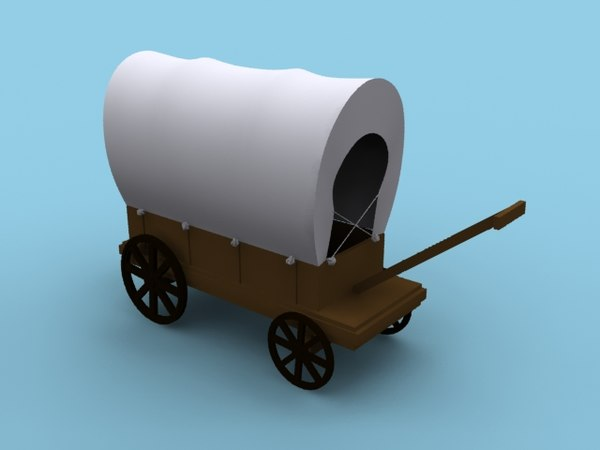 wild west carriage model