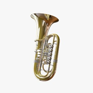 3D firebird tuba