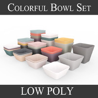 bowl color - model