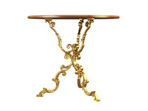 3D home table
