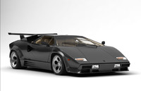lamborghini countach antique 3D model