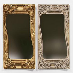 mirror print model