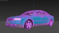 3D brand audi model