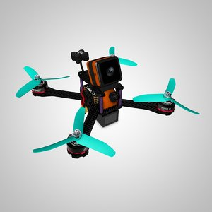 skitzo drone 3D model