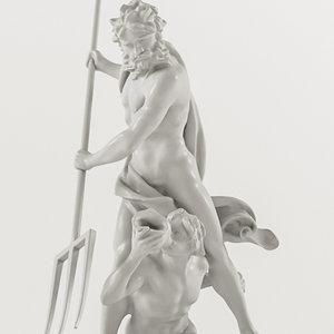 3D gian lorenzo bernini - model