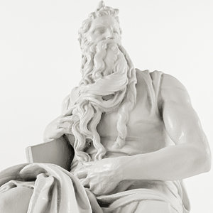 michelangelo - moses 3D model