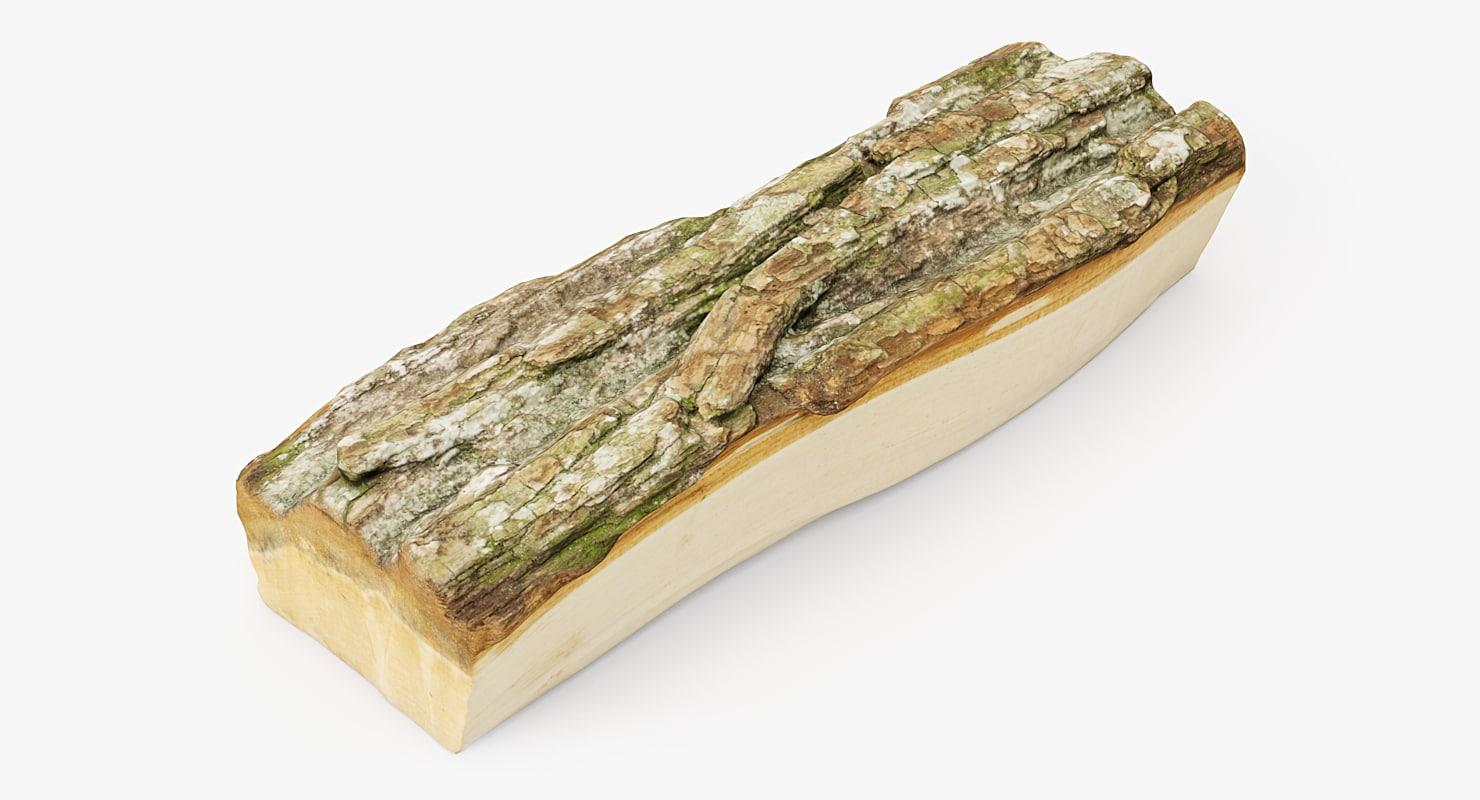 realistic wood 3D