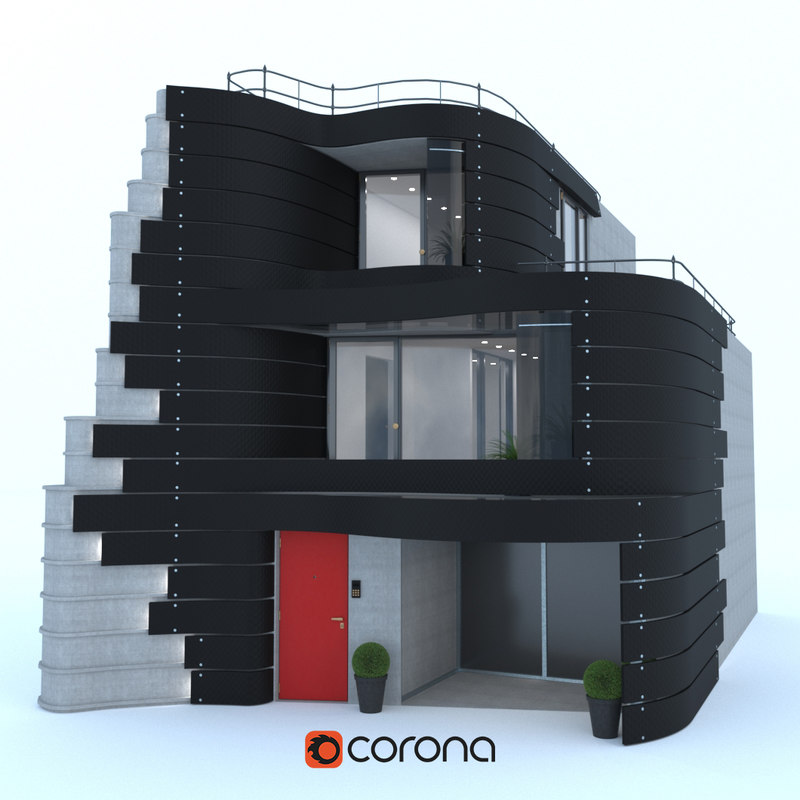 house tokyo designer don 3D model
