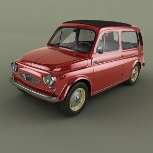 3D 1965 steyr puch 700c