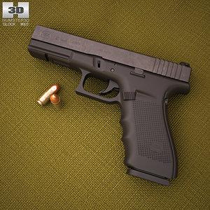 3D glock 21 gen4