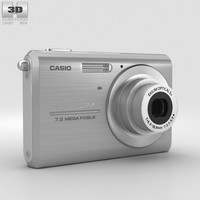 3D casio exilim ex-z75 model