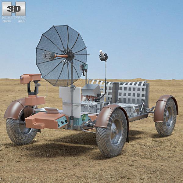 3D apollo 15 lunar