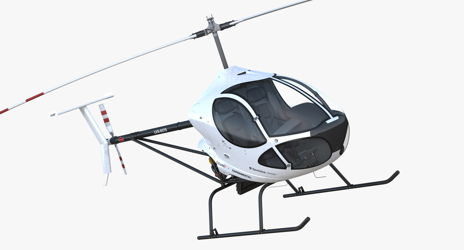 ultra light helicopter cicare model