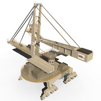3D famak transshipment model