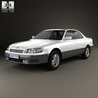 lexus es 1992 3D model