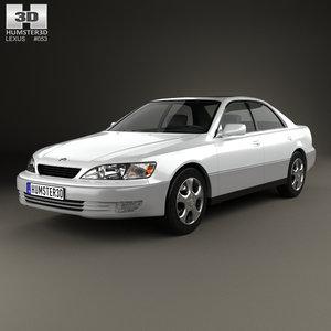 lexus es 1997 3D model