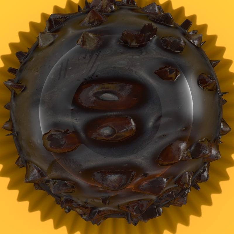 hight chocolate 3D model