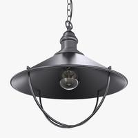 3D hanglamp light bulb