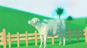 3D cow farm