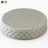 3D pouf allegri model