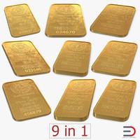 gold bars model