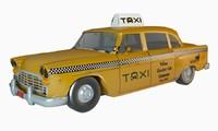 3D cab taxi classic