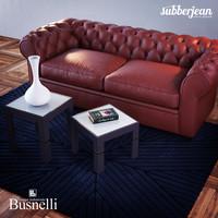 3D busnelli grande walzer sofa