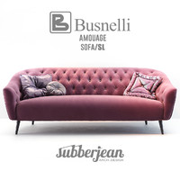 3D model busnelli amouage sofa sl