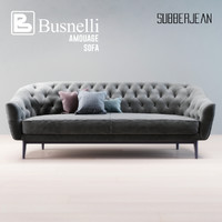 busnelli amouage sofa 3D model