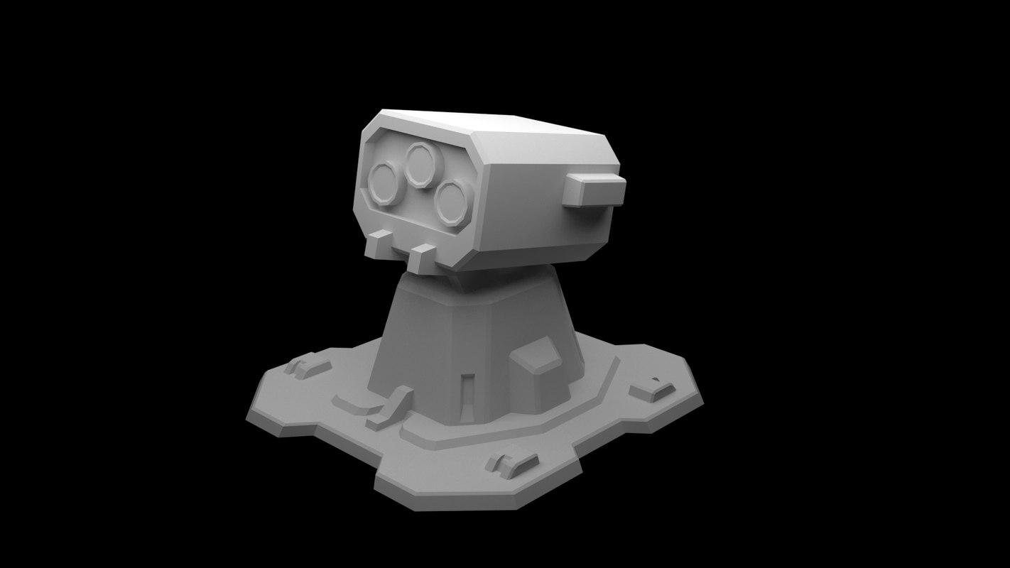 polys unity 3D model