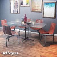 3D t-chair w katavolos table model