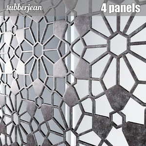 panels eastern arabic 3D