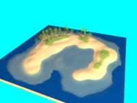 island - 3D