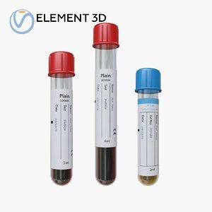 medical tubes model